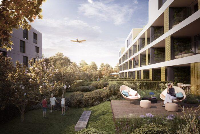 Atelier Flera představuje projekt Bleriot s moderními bytovými domy
